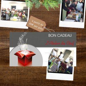 Carte cadeau - Ateliers du Chef