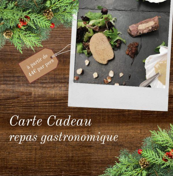Carte cadeaux - Repas Gastronomique